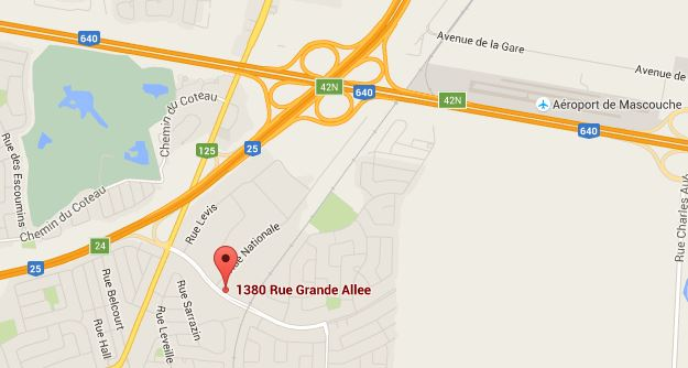 PhilExpress - Google map